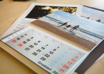 kalendarz a4 z twoim zdjęciem