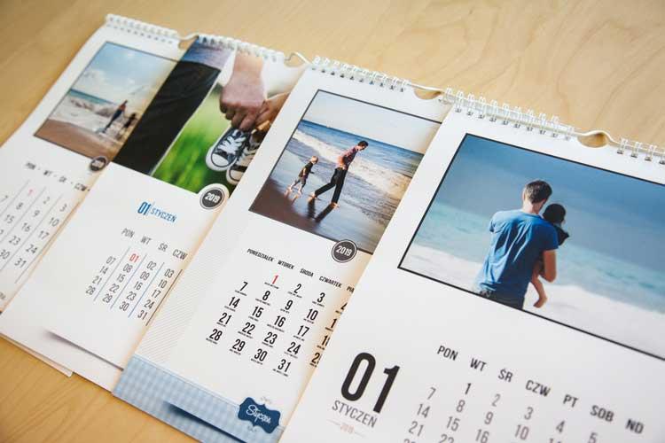 kalendarz z Twoim zdjęciem fotosilesia